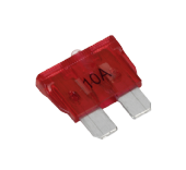 LR003730 BCF4210A Automotive Standard LED Blade Fuse 10Amp Pack of 7 RTC4501 C2P3080